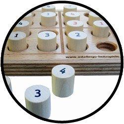 Sudoku 4 x 4 klein