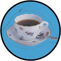 Puzzles Kaffeetafel - 4 große Teile (Siehe Video)