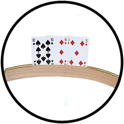 Geschenk für oma: Spielkartenhalter