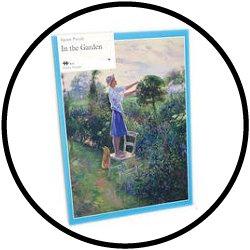 Puzzle - Im Garten - 24 Teile