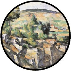 Cezanne Hillside in Provence Puzzle - 48 große Teile