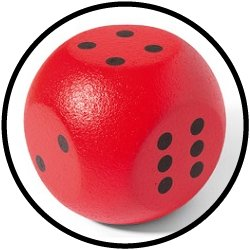 VOLLEY® Würfelball 21 cm