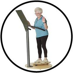 Balanceübungen für Senioren